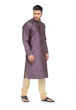 MLS  Purple Kurta Pajama