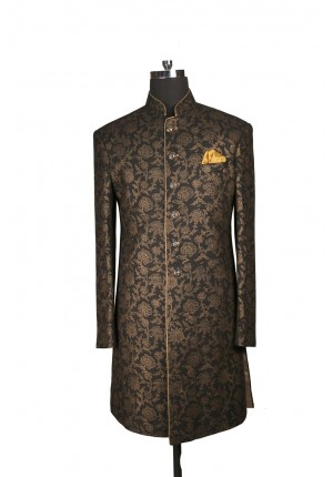 MLS Black Silk Indowestern