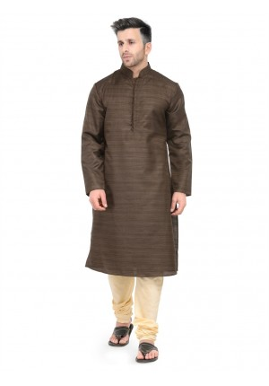 MLS Brown Kurta Pajama