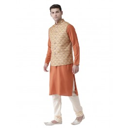 MLS Mustard Nehru Jacket
