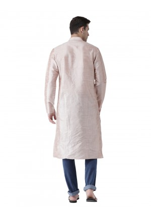 MLS Brown Stripe Kurta
