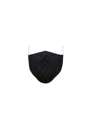 MLS Black Designer Face Mask