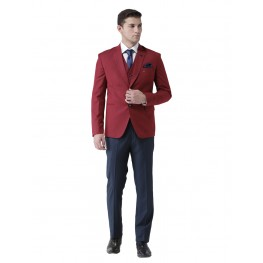 MLS Maroon Formal Suit