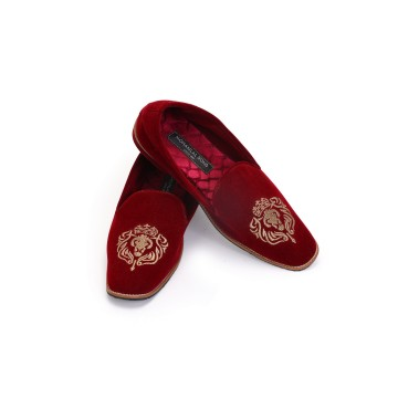MLS MAROON LOAFERS