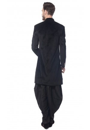 MLS Black Indowestern