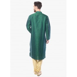 MLS Green Kurta Pajama