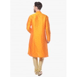 MLS Yellow Kurta Pajama