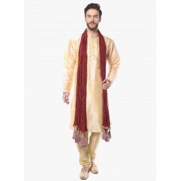 MLS Cream Kurta Pajama