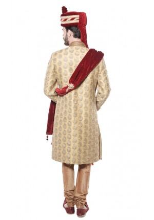 MLS Antique Sherwani