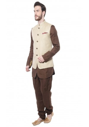 MLS Natural Nehru Jacket