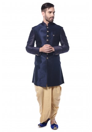 MLS Blue indowestern