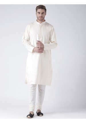 MLS Fawn Color Kurta Pajama