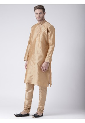 MLS Chikoo Color Kurta Pajama