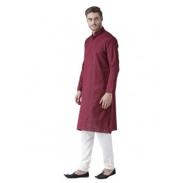 MLS Wine Color Kurta