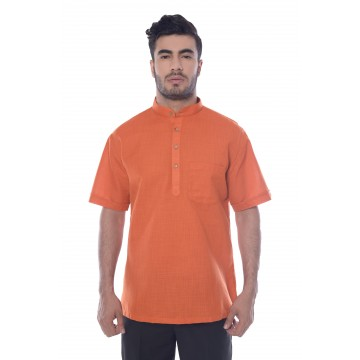 MLS Orange Modi Kurta