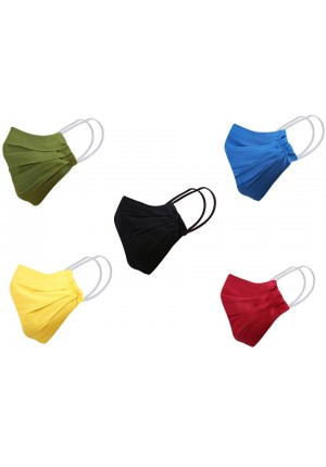 MLS Cotton 5 pcs Mask
