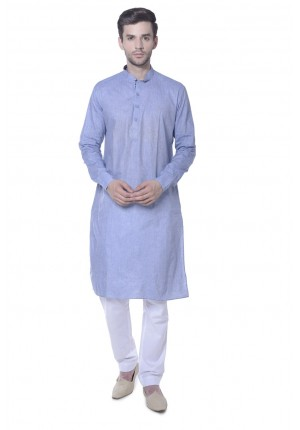 MLS Blue Kurta