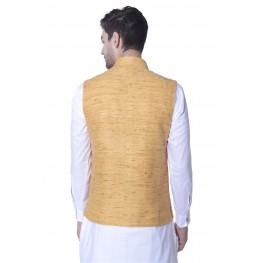 MLS Yellow Nehru Jacket