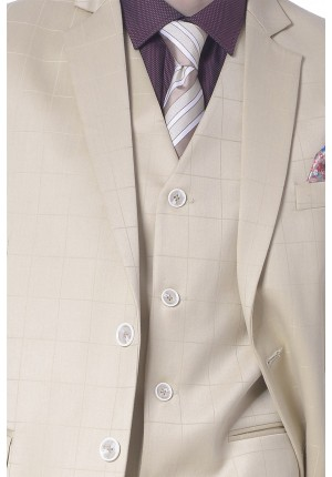 MLS Khaki Formal Suit