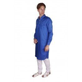 MLS  Royal Blue Pathani Kurta Pajama