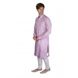 Mohanlal Sons Purple Pathani Kurta Pajama