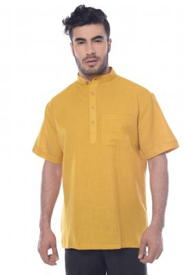 MLS Mustard Color Modi Kurta