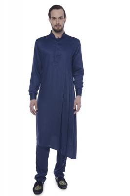 MLS Blue Kurta Pajama